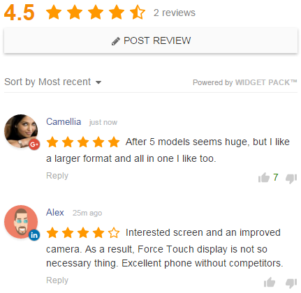 Reviews System